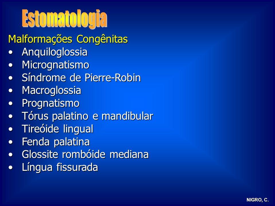 Estomatologia Malformações Congênitas Anquiloglossia Micrognatismo