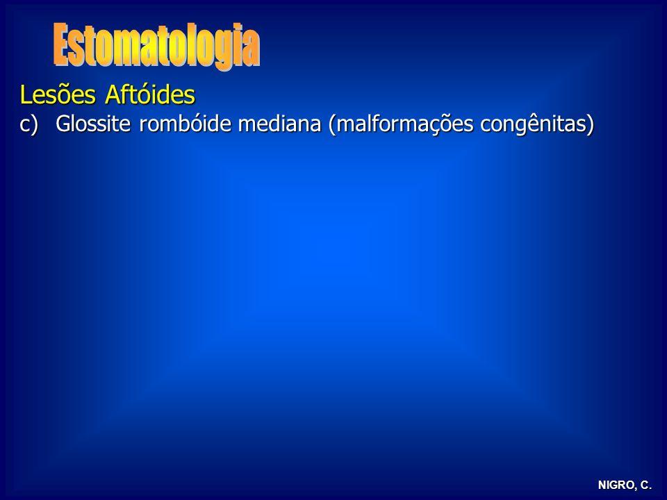Estomatologia Lesões Aftóides