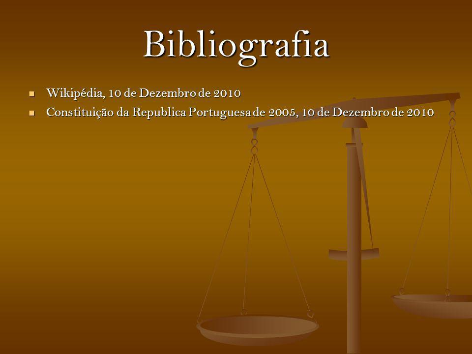 Bibliografia Wikipédia, 10 de Dezembro de 2010
