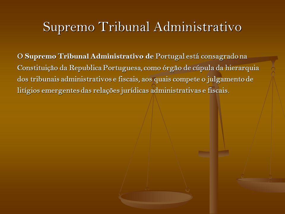 Supremo Tribunal Administrativo