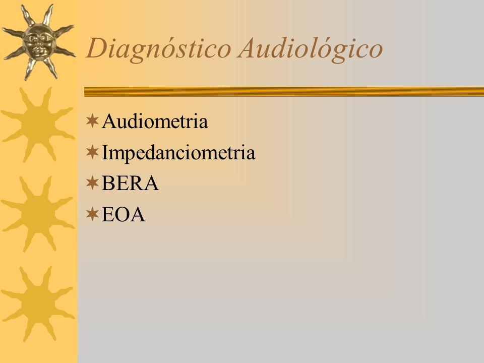 Diagnóstico Audiológico