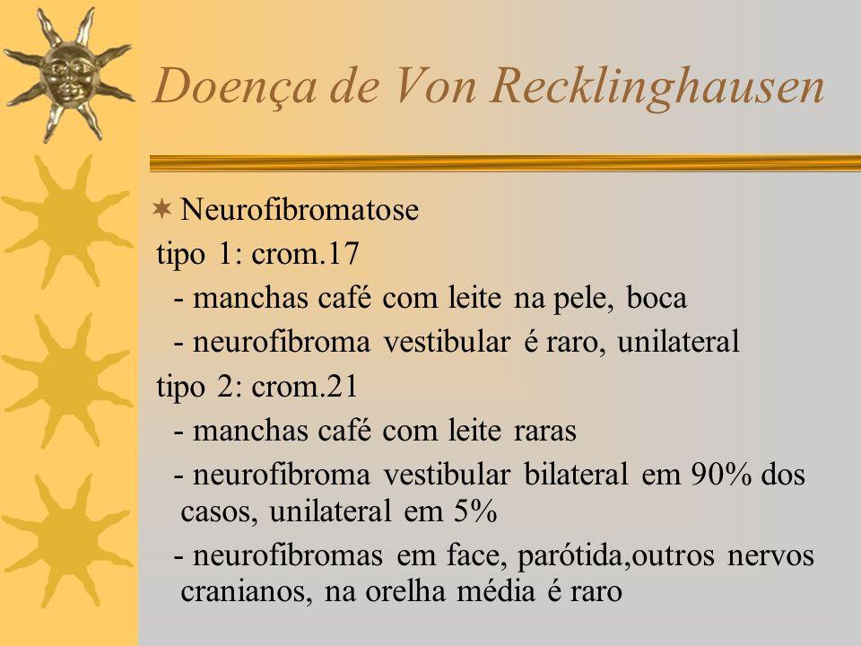 Doença de Von Recklinghausen