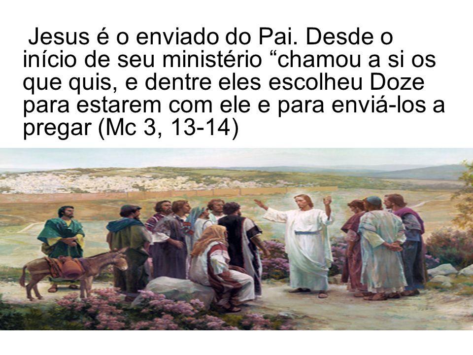 Jesus é o enviado do Pai.