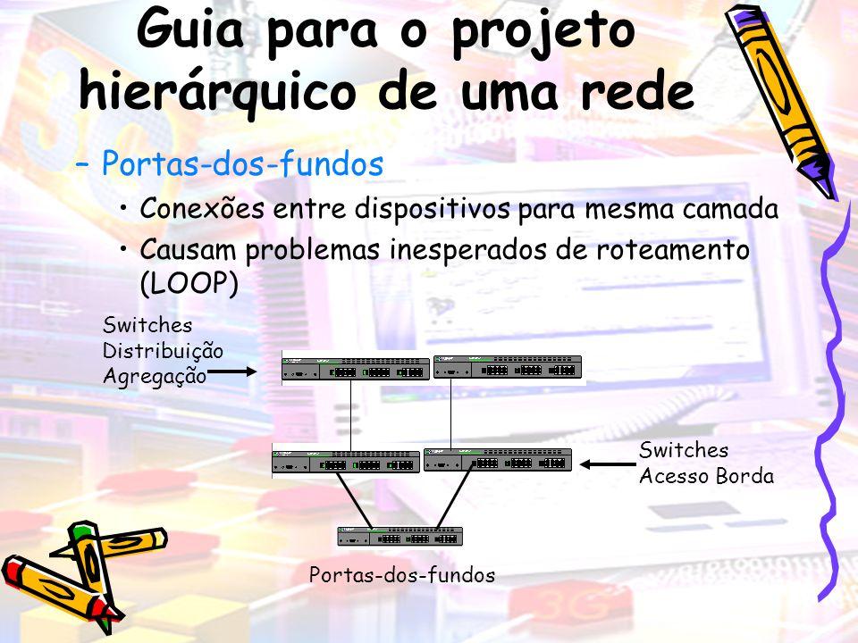 Guia para o projeto hierárquico de uma rede
