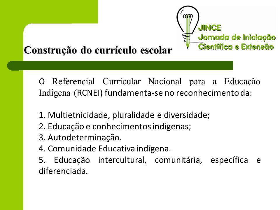 Construção do currículo escolar