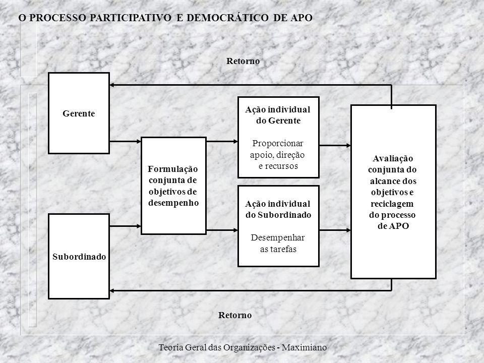 O PROCESSO PARTICIPATIVO E DEMOCRÁTICO DE APO