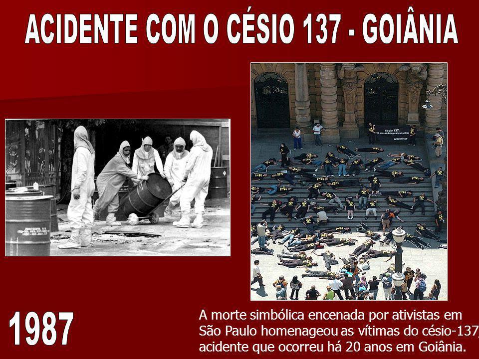 ACIDENTE COM O CÉSIO 137 - GOIÂNIA