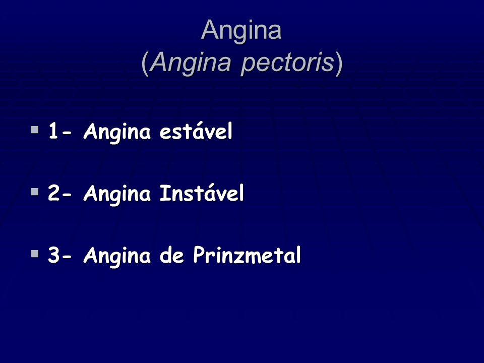 Angina (Angina pectoris)