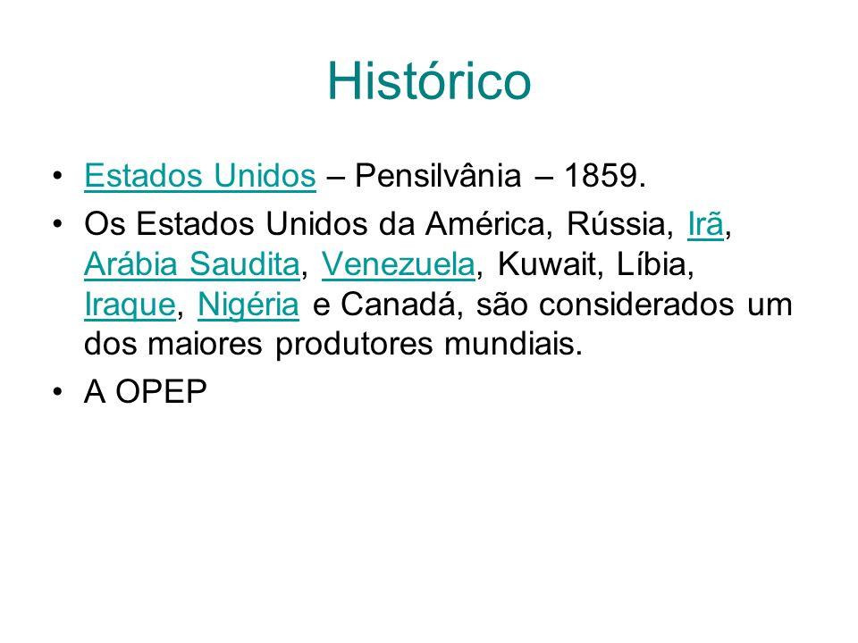 Histórico Estados Unidos – Pensilvânia – 1859.