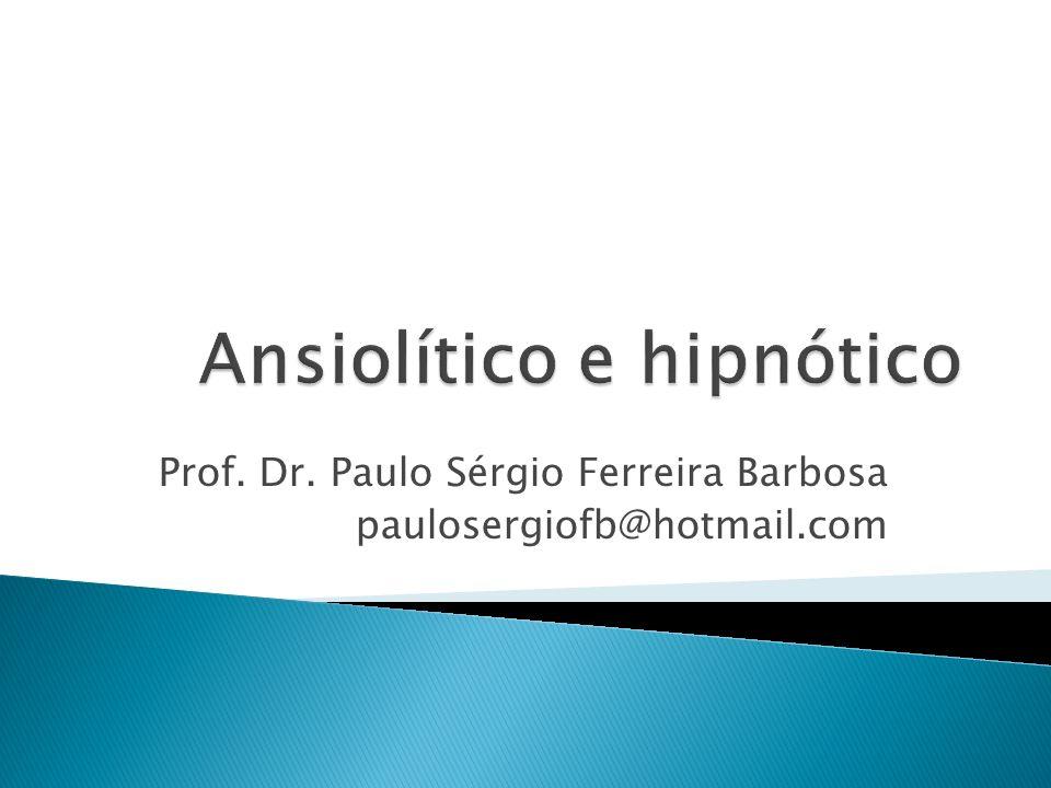 Ansiolítico e hipnótico