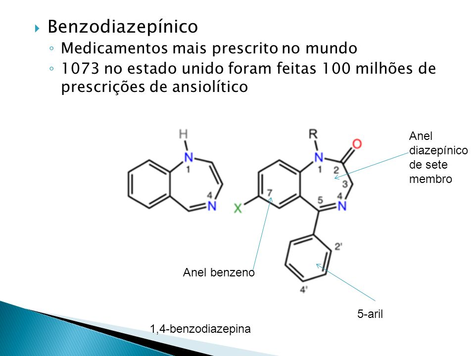 Benzodiazepínico Medicamentos mais prescrito no mundo