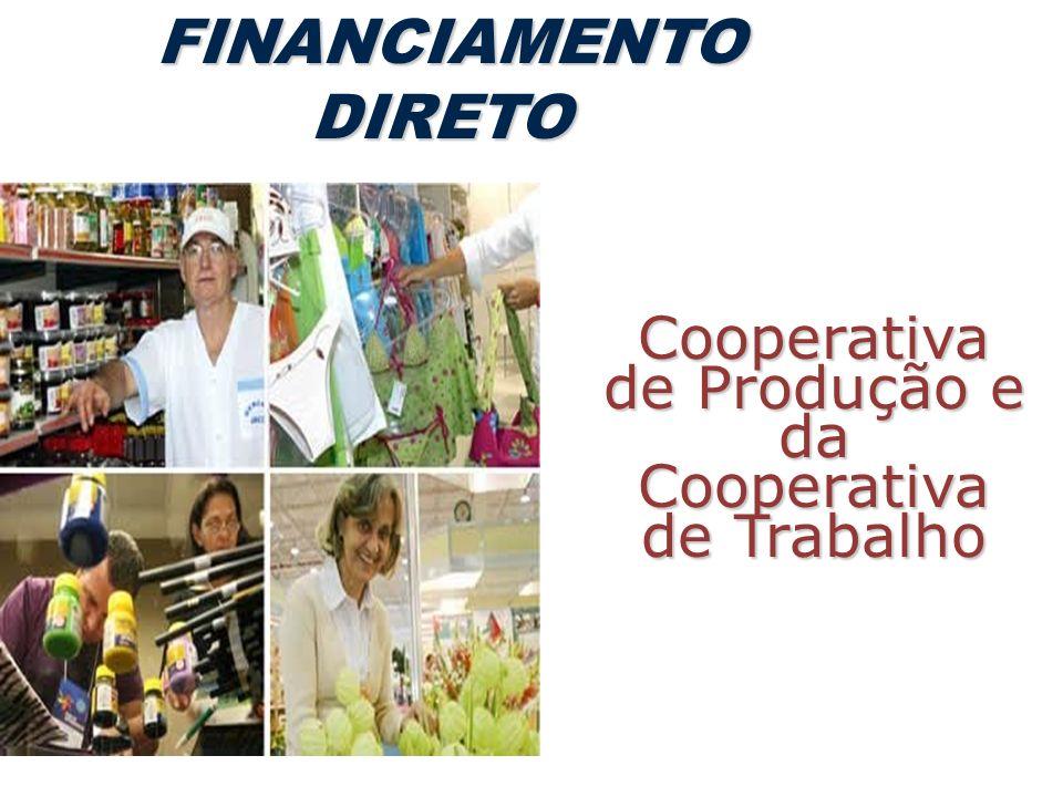 Cooperativa de Produção e da Cooperativa de Trabalho