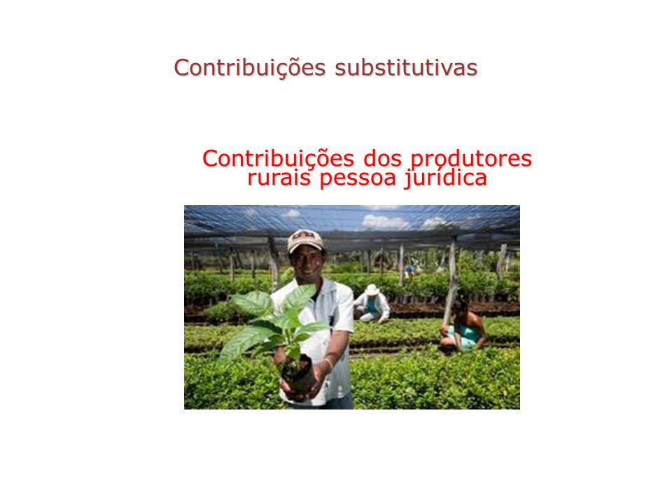 Contribuições substitutivas