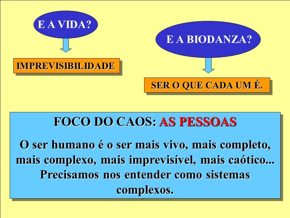 FOCO DO CAOS: AS PESSOAS