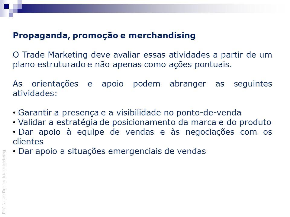 Propaganda, promoção e merchandising