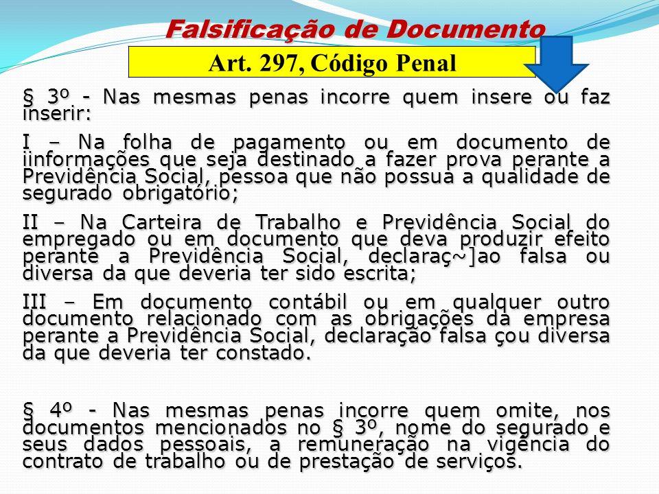 Falsificação de Documento