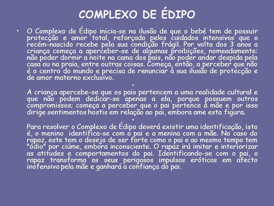 COMPLEXO DE ÉDIPO