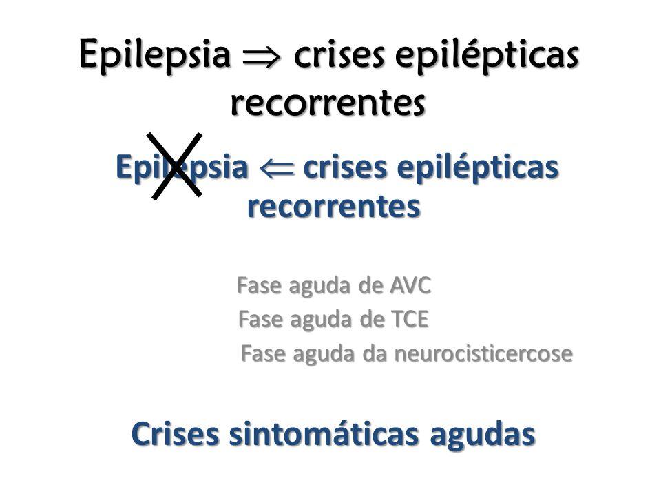 Epilepsia  crises epilépticas recorrentes
