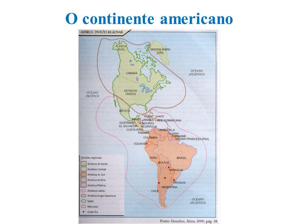 O continente americano