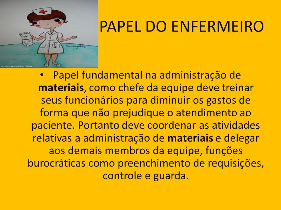 PAPEL DO ENFERMEIRO