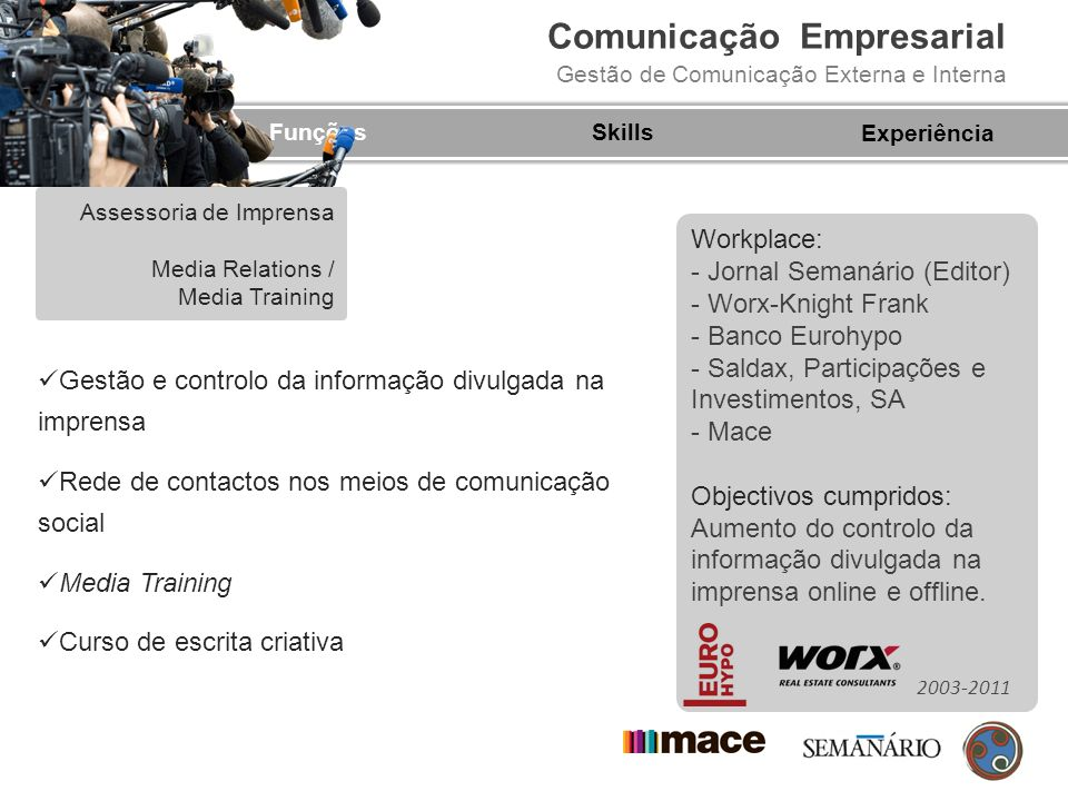 - Jornal Semanário (Editor) - Worx-Knight Frank - Banco Eurohypo