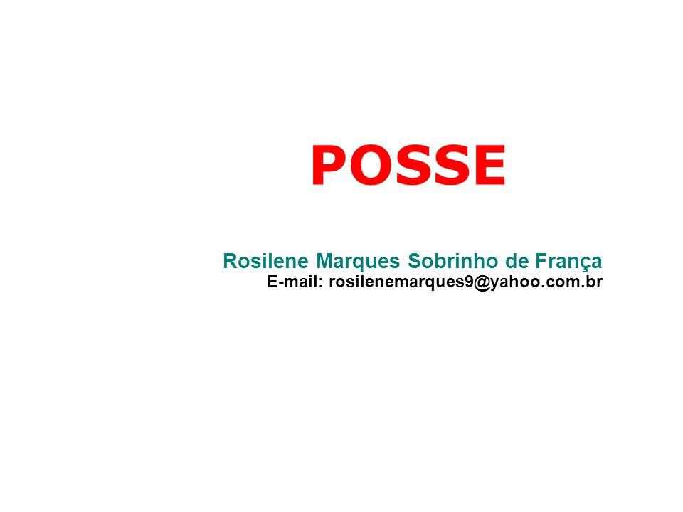 POSSE Rosilene Marques Sobrinho de França