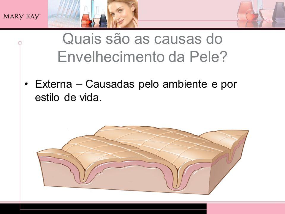 Quais são as causas do Envelhecimento da Pele