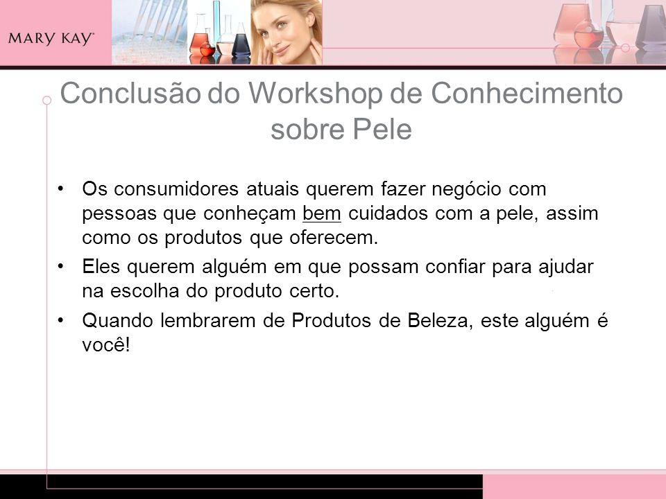 Conclusão do Workshop de Conhecimento sobre Pele