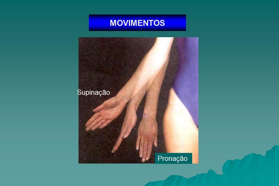 MOVIMENTOS Supinação Pronação
