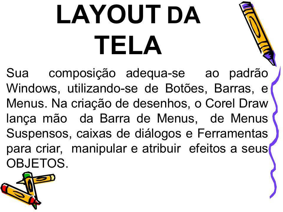 LAYOUT DA TELA