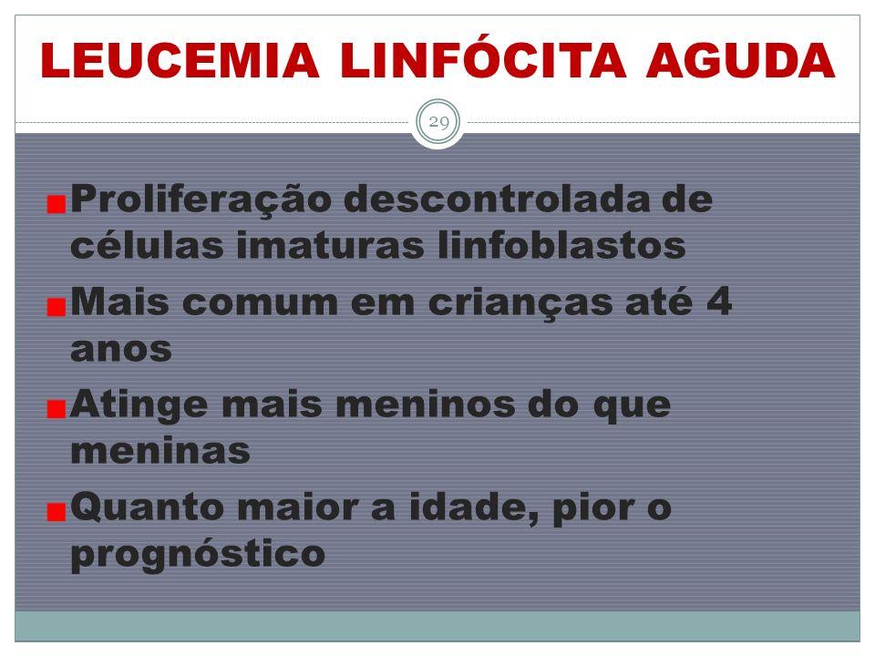 LEUCEMIA LINFÓCITA AGUDA