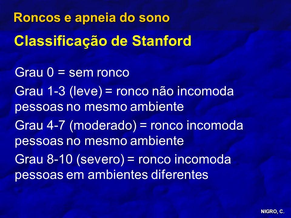 Classificação de Stanford