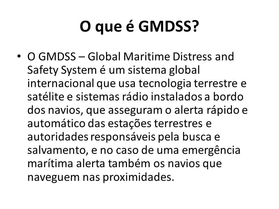 O que é GMDSS