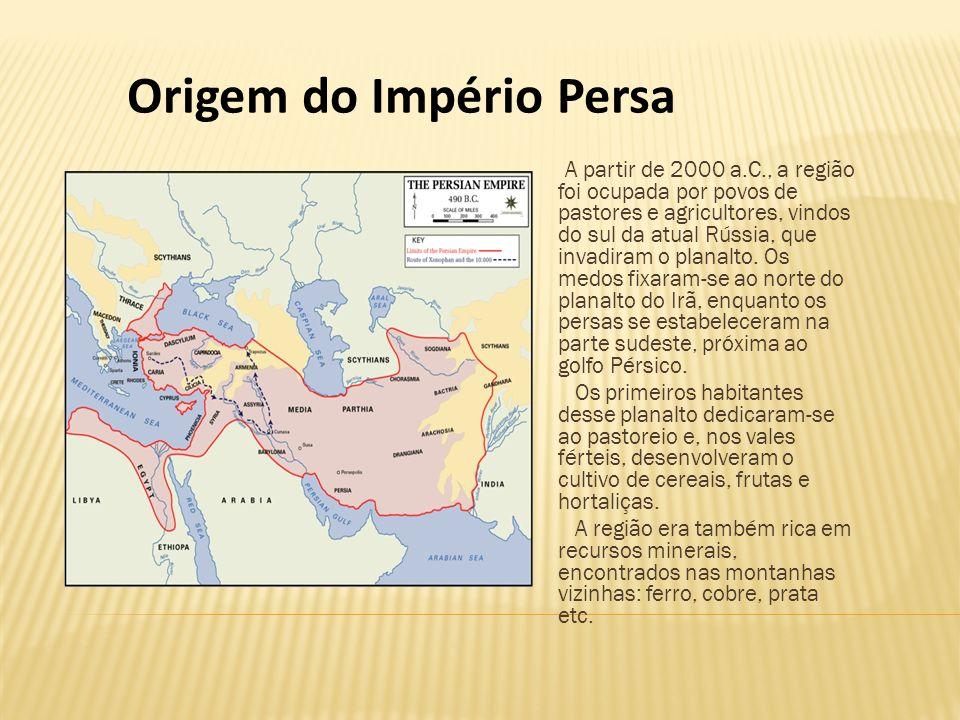 Origem do Império Persa