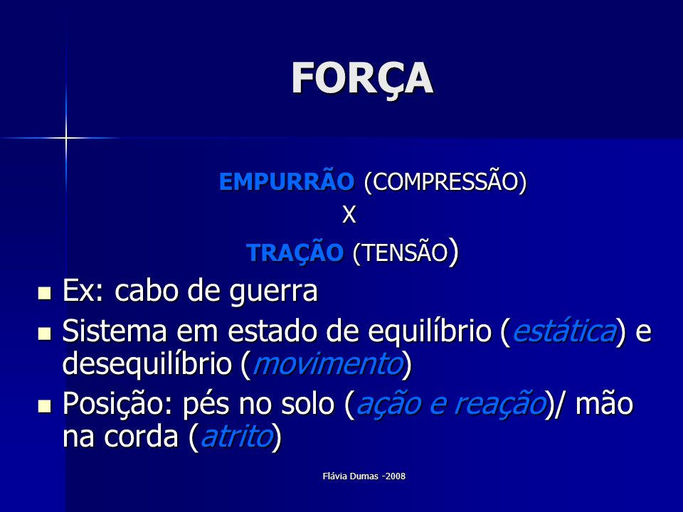 EMPURRÃO (COMPRESSÃO)