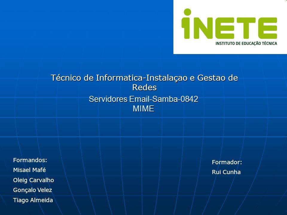 Servidores Email-Samba-0842 MIME