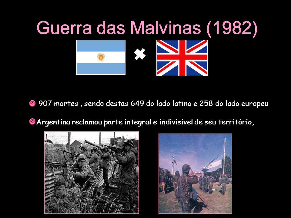 Guerra das Malvinas (1982) Guerra das Malvinas (1982)