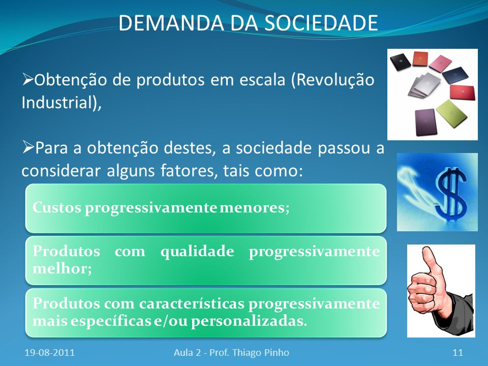 Aula 2 - Prof. Thiago Pinho