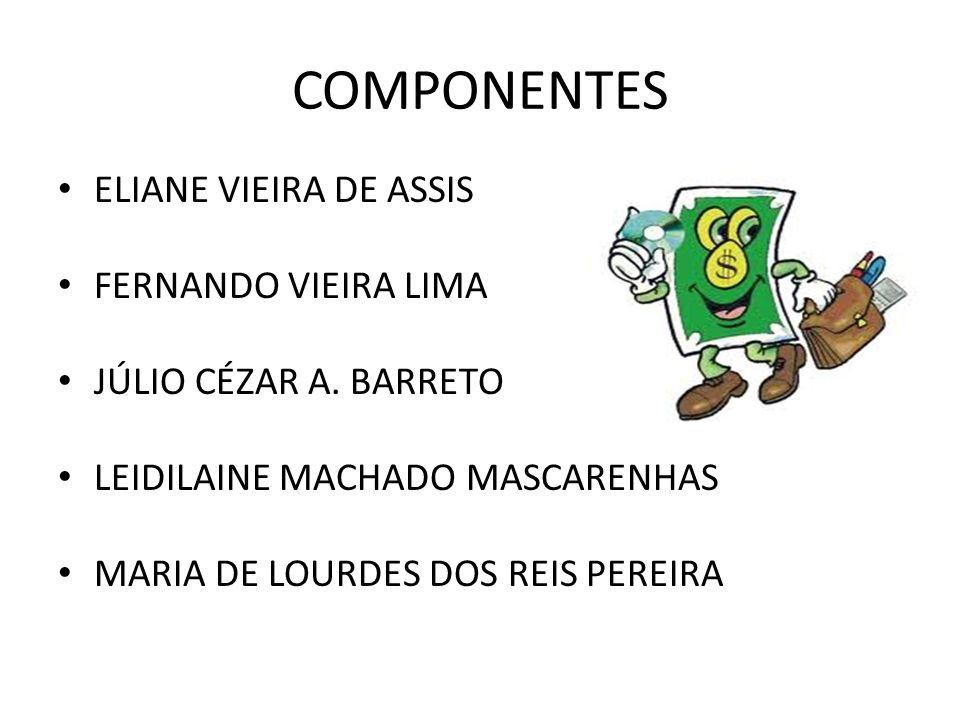 COMPONENTES ELIANE VIEIRA DE ASSIS FERNANDO VIEIRA LIMA