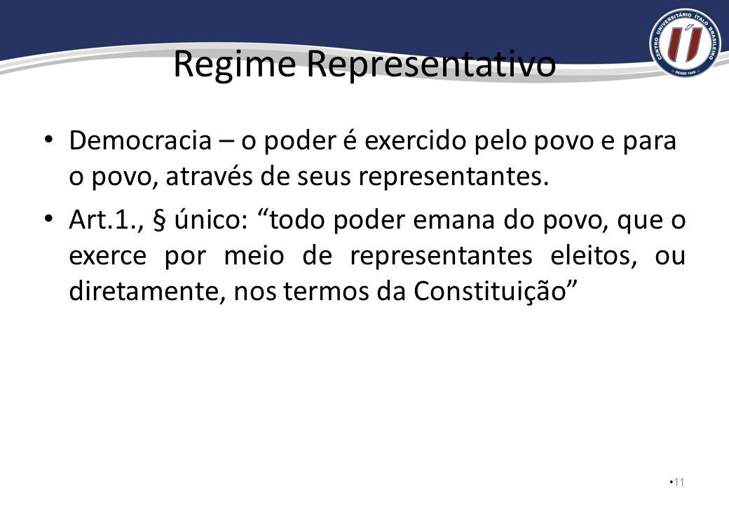 Regime Representativo