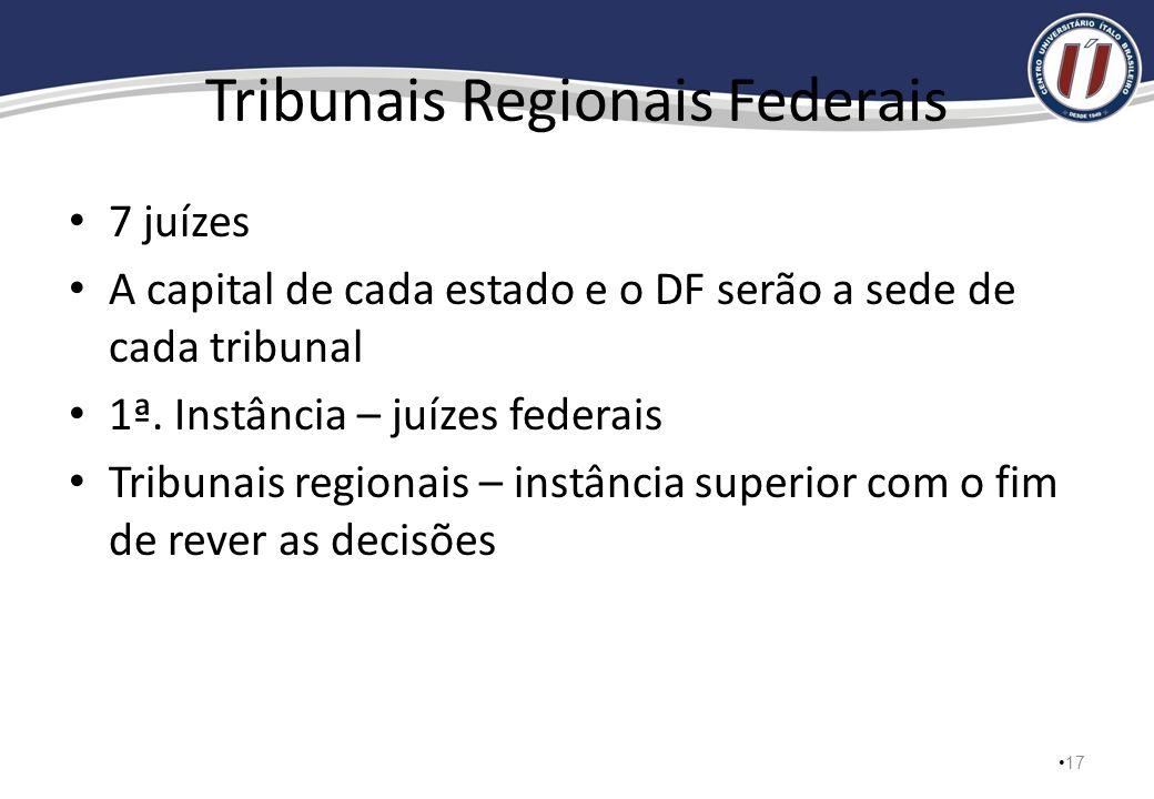 Tribunais Regionais Federais