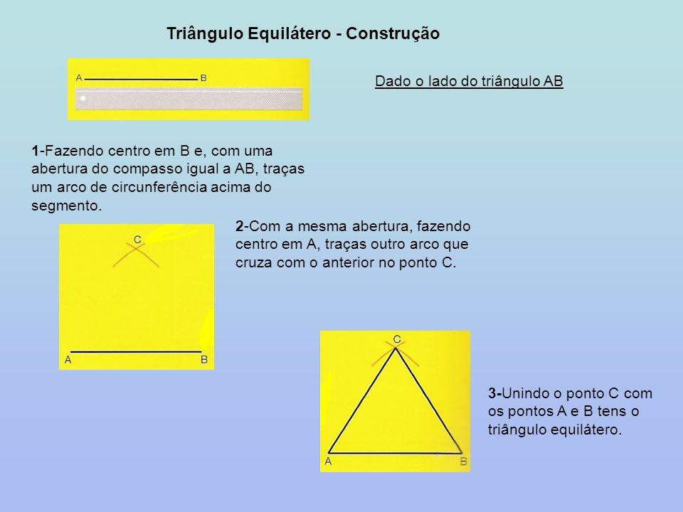 Triângulo Equilátero - Construção