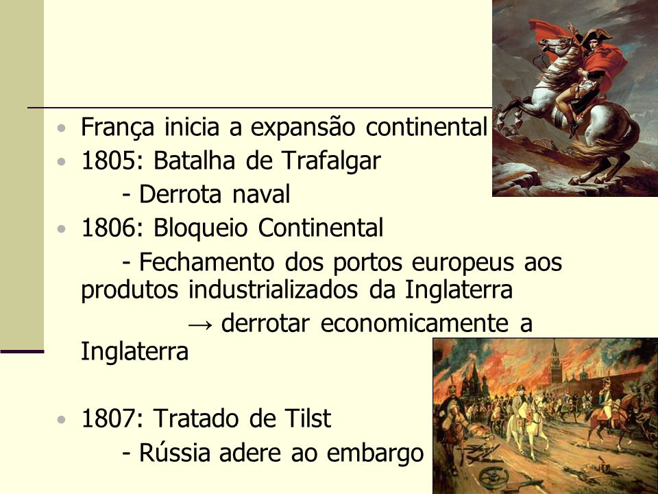 França inicia a expansão continental
