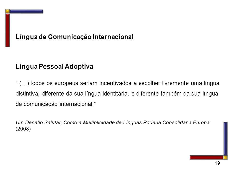 Língua de Comunicação Internacional