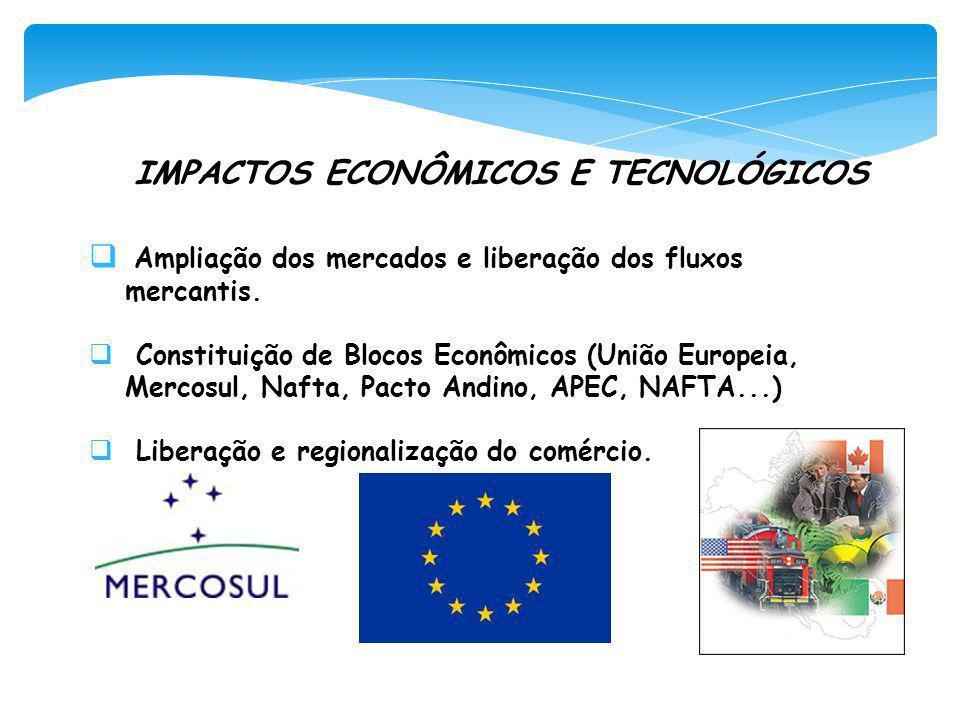 IMPACTOS ECONÔMICOS E TECNOLÓGICOS