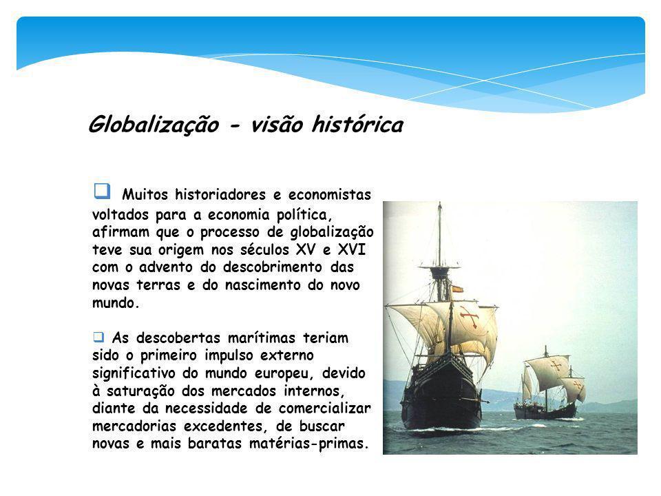 Globalização - visão histórica