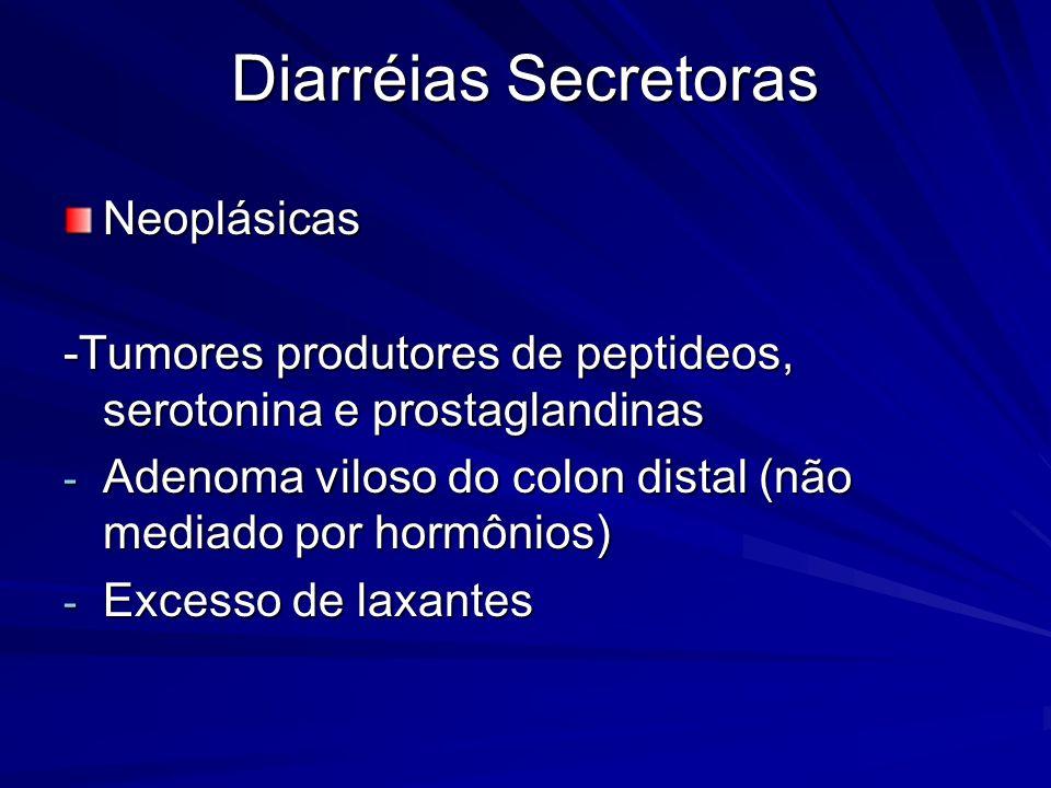 Diarréias Secretoras Neoplásicas