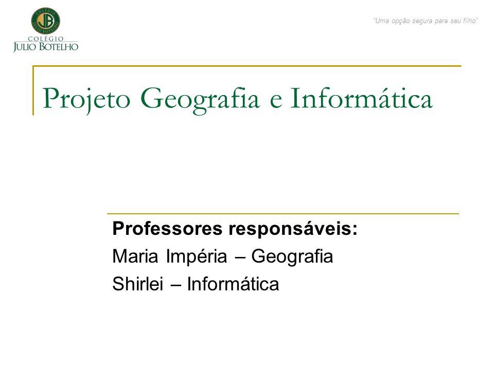 Projeto Geografia e Informática