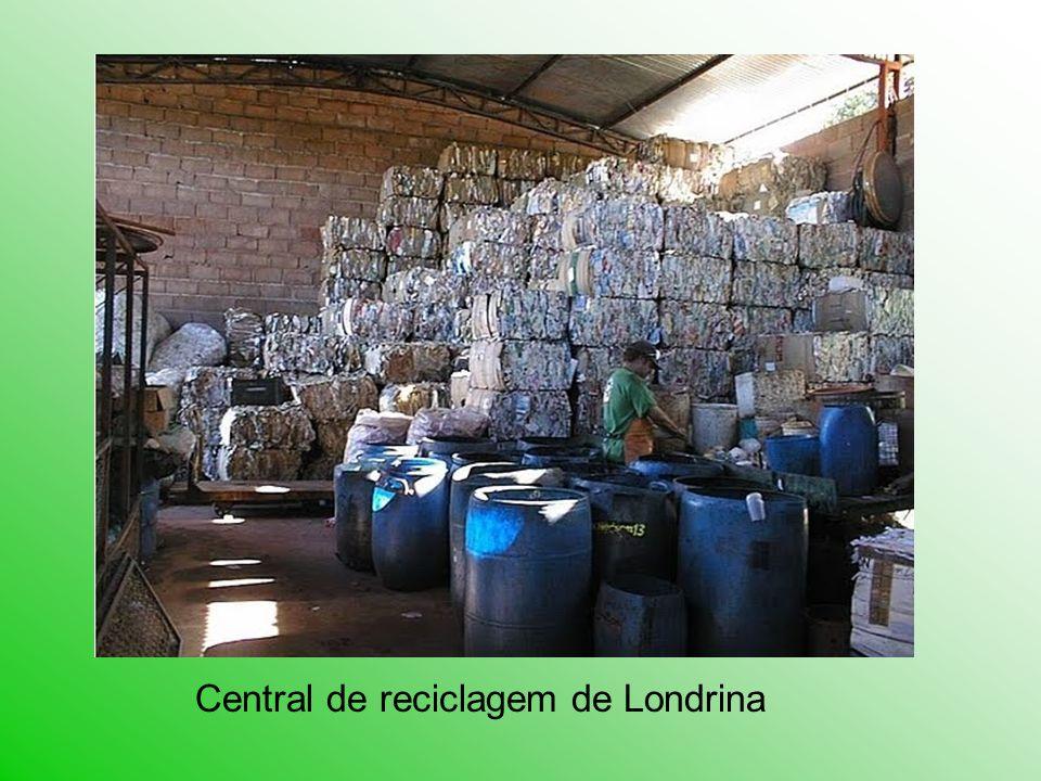 Central de reciclagem de Londrina