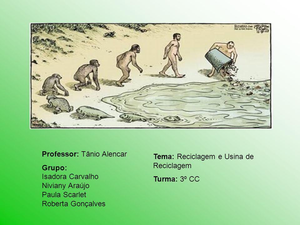 Professor: Tânio Alencar